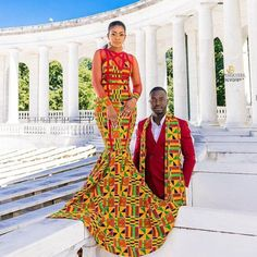 African dress Ankara dress African print dress African fashion African dress styles 2018 Ankara Styles 2018 African prom dress Ankara for couples African Wedding Attire, African Attire, African Wear, African Women, African Dress, African Style, African Weddings, Nigerian Weddings, African Print Wedding Dress
