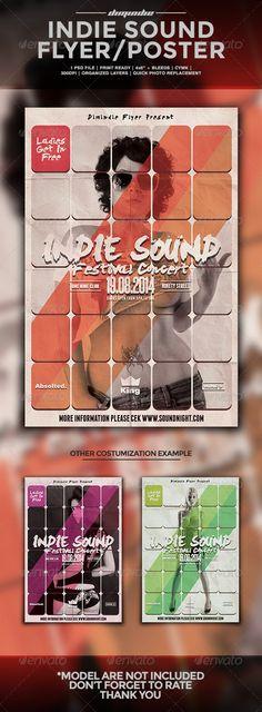 Indie Sound Flyer Template