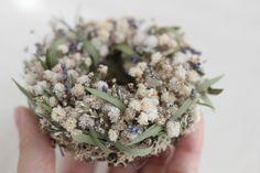 FLEURI (フルリ)| ドライフラワー dryflower リース wreath かすみ草 ラベンダー