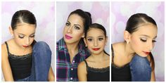 DANCE RECITAL MAKEUP AND HAIR TUTORIAL, MAKE UP FOR THE STAGE OR COMPETI...