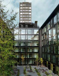 la serenissima by park associati: http://www.dezeen.com/2013/01/31/la-serenissima-office-refurbishment-by-park-associati/