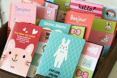 ICONIC Sticky Book MEMO-IT kawaii sticky notes 5pc cartoon note tab page markers #Unbranded