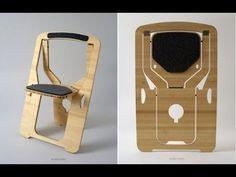 Складной стул  решение для маленьких пространств