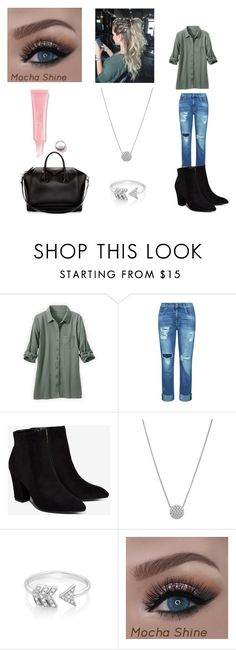 """""""Sin título #92"""" by evelyn-mendoza-1 on Polyvore featuring moda, 7 For All Mankind, Billini, EF Collection y Givenchy"""