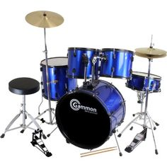 Here is one of the top rated drum kits. It is a 5 piece drum kit that comes with everything your child needs to learn how to play the drums. Click the image below to order.