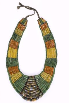 bearhair:  glass beaded necklace from the paiwan tribe http://culture.teldap.tw/culture/index.php?option=com_contentview=articleid=659