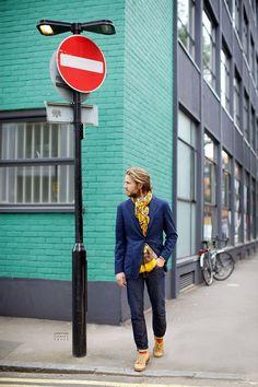 dark blue jacket | #fashion #streetstyle | http://lkl.st/1t7V5fk | See more on https://www.lookli.st #Looklist