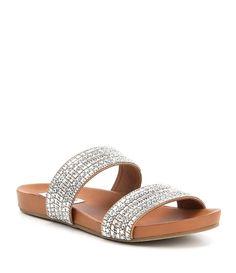 Steve Madden Dynamo Rhinestone Banded Sandals