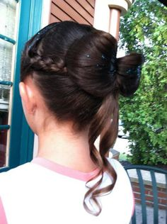 Cute hair style for kids