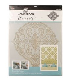 FolkArt Home Decor Wall Stencil-Ornate Damask