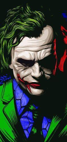 Le Joker Batman, Batman Joker Wallpaper, Joker Iphone Wallpaper, Heath Ledger Joker, Phone Wallpaper Images, Joker Wallpapers, Gaming Wallpapers, Joker And Harley Quinn, Cartoon Wallpaper