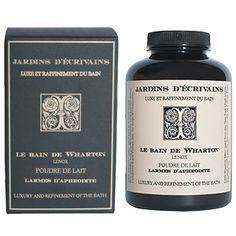 Le Bain de Wharton Powdered Bath Milk 150 g by Jardins d'Ecrivains