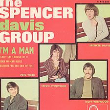 "Spencer Davis Group, I'm A Man E.P., French, Deleted, 7"" vinyl single (7 inch record), Fontana        , 465360ME       , 93600"