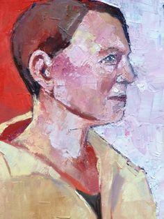 Mum oil on canvas