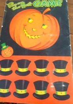 Vintage Halloween Game