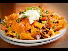 How To Make Salsa Nachos - YouTube