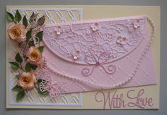 Handbag card With Love