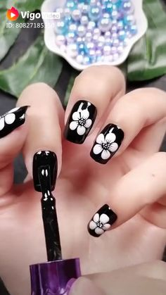 Would you try these amazing ideas By: YagalaAmazing Argyle Nail Art Diy Trends of 2019 / for elegant womenHalloween nail art ideas for a cute-but-cree. Nail Art Designs Videos, Nail Art Videos, Simple Nail Art Designs, Beautiful Nail Designs, Diy Nail Designs Step By Step, Nail Art Flowers Designs, Toe Nail Art, Nail Art Diy, Easy Nail Art