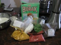 Make Your Own Milk Paint - borax instead of lime