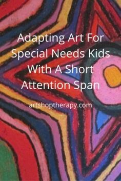8 Art Ideas For Kids With Special Needs From An Art Therapist Art