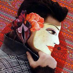identity - collage du jour © defawa #collagedujour #cutandpast #papercollage #collageoftheday #gluepaperscissors #collageart #identity #defawa