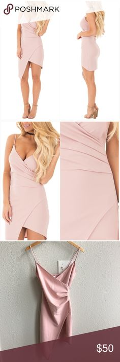 ⭐️Blush Dress NWT Blush dress. Didn't come with tags attached. Gorgeous dress, never been worn. Sadly it is too small for me. Size small.   ❌ NO TRADES 📬 Same day / Next day Shipping 🚫Non smoking & Pet free Home 🎁 Bundle discount 10% off 2+ item Dresses Mini