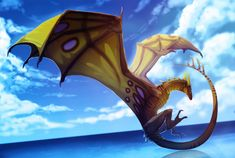 Dragon Orion - Commission by magmi on DeviantArt Mythological Creatures, Fantasy Creatures, Mythical Creatures, Manga Dragon, Dragon Art, Fantasy World, Fantasy Art, Wings Of Fire Dragons, Beautiful Dragon