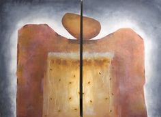 Acrylic on canvas.  2x120x50 cm Elin Muren