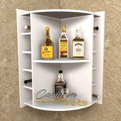 Corner Wine Rack, Wine Rack Bar, Mini Bars, Canto Bar, Alcohol Dispenser, Bar Shed, Hanging Wine Rack, Wine Cork Crafts, My Bar