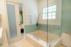 Gorgeous Spa-like bath with sunken tub....