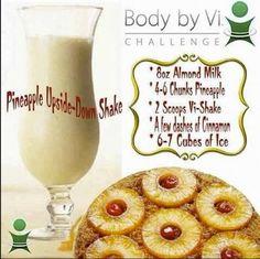 Body by Vi Pineapple Upside-Down Shake