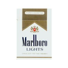 Marlboro Lights CIgarettes ❤ liked on Polyvore featuring fillers, accessories, cigarettes, other, smoking, phrase, quotes, saying and text