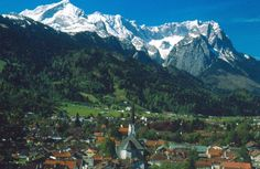 Garmisch, Germany One of the most beautiful places.... the air was so crisp and fresh and COLD. One of my favorites!!