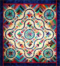 Wonderful colors in a quilt!