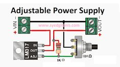 - Adjustable DC power supply easy & simple electronic circuit components required method & more – S - Simple Electronic Circuits, Electronic Circuit Design, Electronic Kits, Electronic Schematics, Diy Electronic Projects, Electronics Engineering Projects, Electronics Projects For Beginners, Electronic Engineering, Simple Electronics