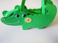 Gymboree Girls Adorable Alligator Purse