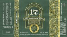 Perennial 17 (Barrel Aged Mint Chocolate Stout) Arrives On St. Paddy's  http://bsj.me/-5