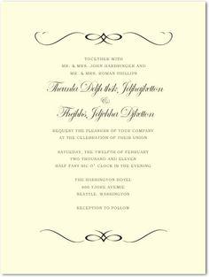 Windswept Symmetrical Wedding Celebration by Happyinvitation, $1.00