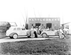 5/23/2016 - On this date in Florida history, 1931, Florida's first canned rattlesnake meat factory opened in the town of Rattlesnake, Florida (later renamed Arcadia). Sadly, Mr. George End, the founder of the factory, died from the bite of one of his own rattlesnakes and thus ended both the town and the factory. (Florida Memory Collection)