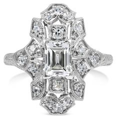 The Tynan Ring from Brilliant Earth - This really looks like my grandmother's engagement ring somebody stole from my parents house. LOVE THIS RING. I know my husband could pull this off hint hint hint.
