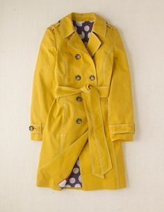 mustard and polka dots, what's not to love??