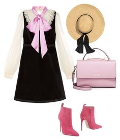 """Untitled #3186"" by caffeinatedfashionista ❤ liked on Polyvore featuring Gucci and WithChic"