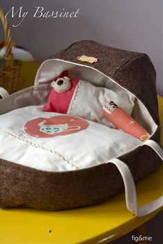 doll bassinet — Fig and Me