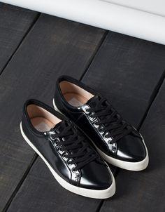 BSK pointed sneakers - Shoes - Bershka Indonesia