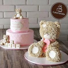 Teddy Cakes                                                                                                                                                                                 More