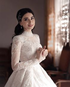 Dream Wedding Dresses, Bridal Dresses, Christian Wedding Gowns, Wedding Venues Melbourne, Wedding Hijab Styles, Elegant Ball Gowns, Bridal Hijab, Abaya Fashion, The Dress