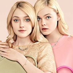 DAKOTA FANNING AND ELLE FANNING | omg! Celebrity gossip, news photos, babies, couples, hotties, and more ...
