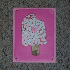 Popsicle Iris-Folded Card