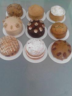 Miniature cake assortment www.sugar-serendipity.com