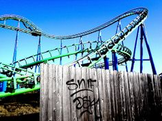 Abandoned | Abandoned by Keoni Cabral.  Abandoned Six Flags amusement park in New Orleans wrecked by Hurricane Katrina in 2005; submerged at one point under 6-8 feet of water.